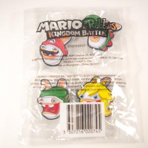 Set De 4 Pin's Exclusif Mario - Lapin (01)