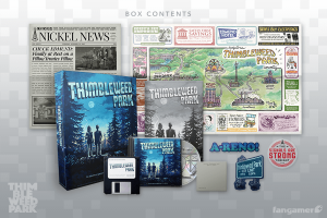 Thimbleweed Park Collector's Game Box (fangamer 02)