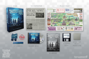 Thimbleweed Park Collector's Game Box (fangamer 03)