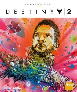 Artbook Inspired by Destiny 2 (cover)