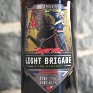 Trooper Light Brigade beer (02)