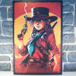 Toile Pink Dead Redemption (FRA NEUF Poster / Affiche Livres)