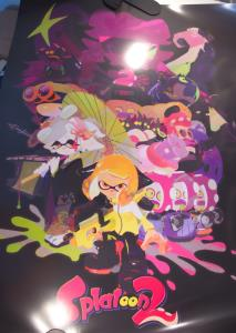 Ensemble de posters Splatoon 2 de haute qualité (03)